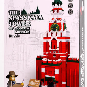 The Spasskaya Tower of MOSCOW KREMLIN - Russia