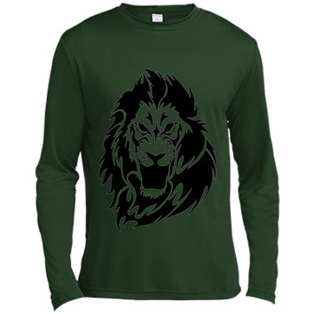 Lion Head T-Shirt King of the Jungle Animal Graphic Tee shirt