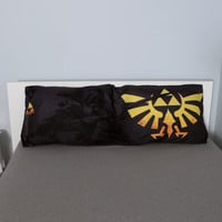 The Legend Of Zelda Triforce Pillowcase Set