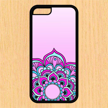 Pink Mandala Sec1 Phone Case iPhone 4 / 4s / 5 / 5s / 5c /6 / 6s /6+ Apple Samsung Galaxy S3 / S4 / S5 / S6