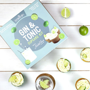 Gin Tonic Cupcake Kit | FIREBOX\u00ae