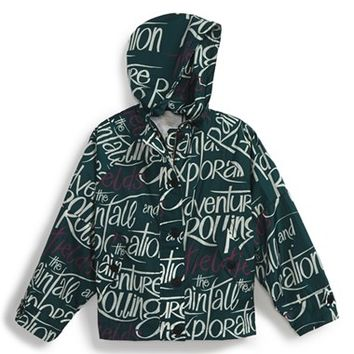 Toddler Girl's Burberry 'Mini Brombrook' Hooded Nylon Jacket