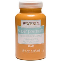 Waverly Inspirations Super Premium Semi-Gloss Finish Acrylic Paint, 8 oz pumpkin