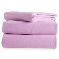 Jersey Knit Bedding Set - Purple,