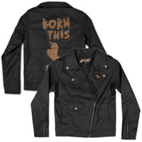 Lady Gaga Born This Way Faux Leather Jacket