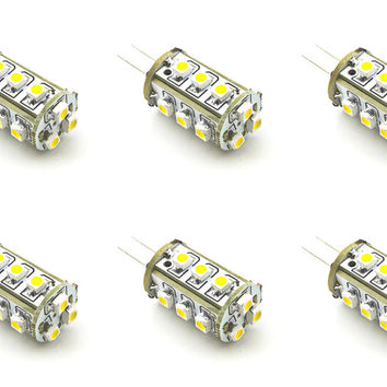 G4 JC 1.5W 3528 LED Light Bulb G4 Bi Pin Home Energy Saving Lamp - 6 Pack