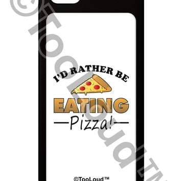 I'd Rather - Pizza iPhone 5 / 5S Grip Case  by TooLoud