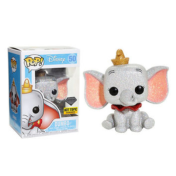 Funko Disney Diamond Collection Dumbo Pop! Dumbo Vinyl Figure Hot Topic Exclusive