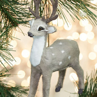 ModCloth Woodland Creature Favorite Time of Deer Ornament
