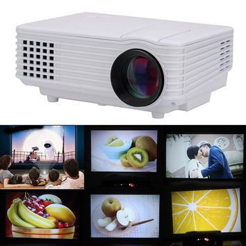 805 Projector 805 Multimedia 800LM HD Projector Multimedia HD Projector Home Cinema Theater HD Projector VGA HDMI USB AV