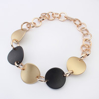 New Arrival Gift Jewelry Shiny Stylish Vintage Punk Ring Necklace [4918888772]