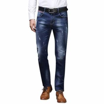 Mens Acid Wash Jeans