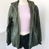 COLD DAYS WINDBREAKER- OLIVE