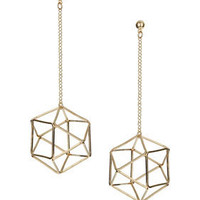 3D Hex Earrings - Jewelry  - Accessories
