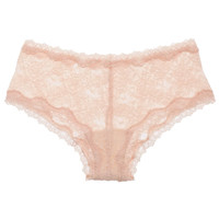 Pale Pink Scalloped Edge Lace Knickers, Kinky Knickers. Shop the latest Kinky Knickers collection at Liberty.co.uk