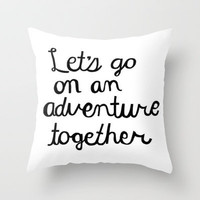 Adventure Throw Pillow by Sjaefashion