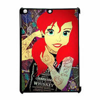 Ariel Little Mermaid Tattoo With Flower Cover iPad Air Case