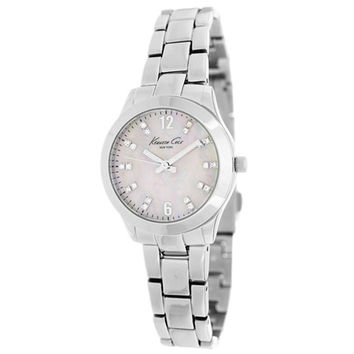 Kenneth Cole KCW4020 Women's New York MOP Dial Steel Bracelet Quartz Watch