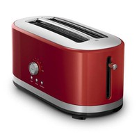 Candy Red Stainless Steel Toaster Kitchen-Aid