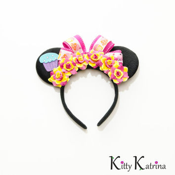Birthday Minnie Mouse Ears Headband, Disney Birthday Ears, Mouse Ears Headband, Disney Birthday Party, Disney Birthday Girl, Disney Outfit