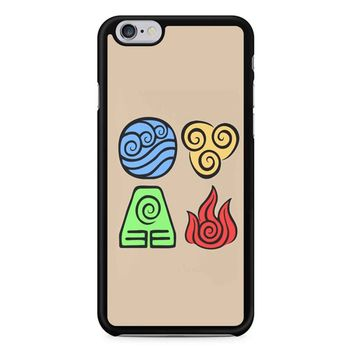 Avatar The Last Airbender Symbols iPhone 6/6s Case
