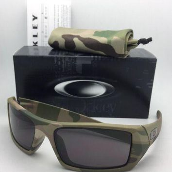 One-nice™ New OAKLEY Sunglasses GASCAN 53-083 60-15 Multi-Cam Camo Frame w/ Warm Grey Lens