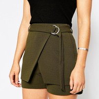 ASOS Skort With D Ring Detail