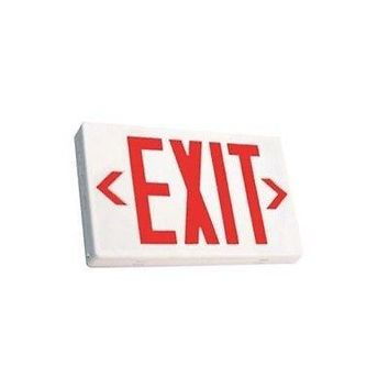 Ciata Lighting EX-R - LED Red Exit Sign with Battery Back-up