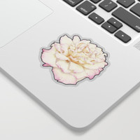 Pale Rose Sticker by drawingsbylam