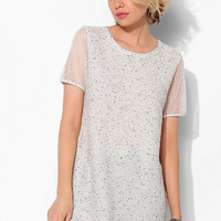 Sparkle & Fade Sport Mesh-Sleeve Tee Dress - Urban Outfitters
