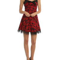Hell Bunny Anchor Rose Dress
