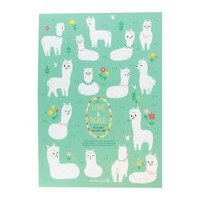 Senior Eye Soft Notebook (2014-F) - Love & Peace ( Sheep )
