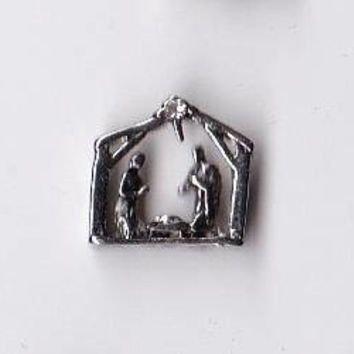 Nativity Floating Charm