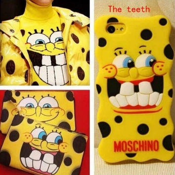 New! Moschino CASE FOR IPHONE 6 5 4 Phone shell