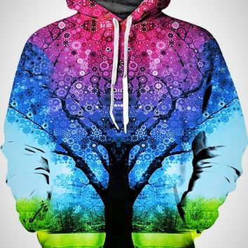 Galaxy Hoodie Men Drawstring Hooded
