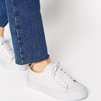 ASOS DALLINGTON Lace Up Trainers at asos.com
