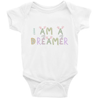 I Am A Dreamer Forest Infant Bodysuit