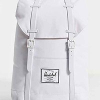 Herschel Supply Co. Retreat Rubber Mono Backpack- White One