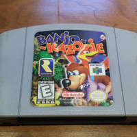 Banjo Kazooie Nintendo 64 n64 system console game - FREE SHIPPING  -