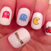 Pacman Nail Decals