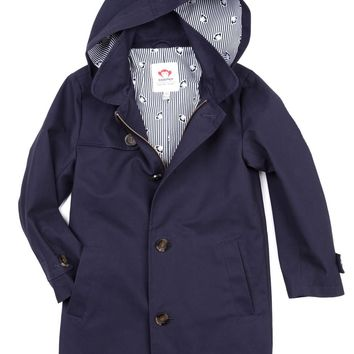 Appaman Boys' Peacoat Trench Coat