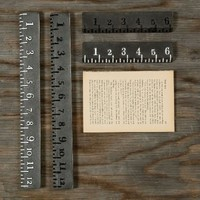 Cast Iron Rulers