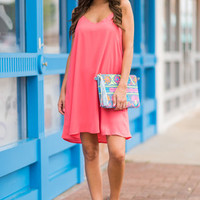 Stole My Heart Dress, Pink