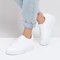 New Look Chunky Flatform Sneaker at asos.com