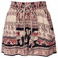Elephant Print Shorts by Band of Gy...