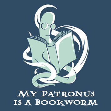 My Patronus is a Bookworm T-shirt