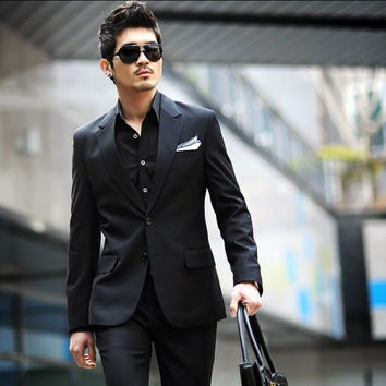 2 Pcs men's business suits set