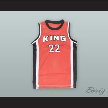 Kawhi Leonard 22 Martin Luther King High School Red Basketball Jersey