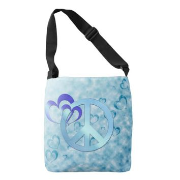 Blue Peace Tote Bag