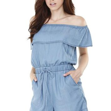 Follow The Waves Romper